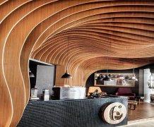 木纹弧形铝方通